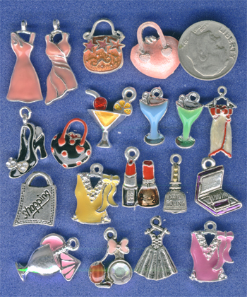 fashion, shopping charms, dress charms, cocktails