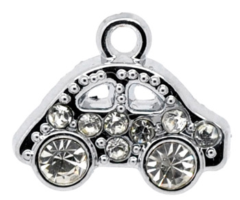 sports car charm, convertible charm, automobile charm