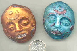 Polymer Clay Assorted Faces