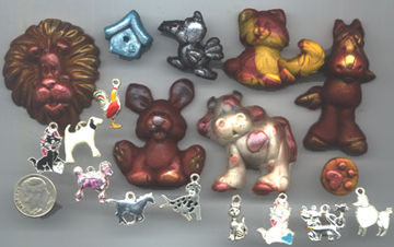 Mixed Media Critter Parts Pack