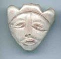 Polymer Clay Inuit Mask