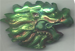 Polymer Clay Flowing Dragon Bead