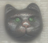 Polymer Clay Classic Cat Face Bead