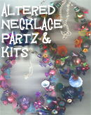 Altered Necklace Partz and Kitz