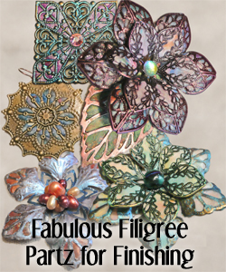 Painted, Decorated Filigree Kits