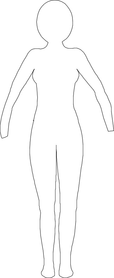 paper doll template woman - partz is not just partz because your project can only be