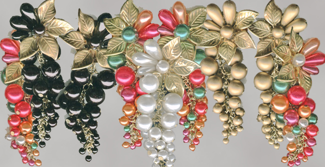 beaded earring mix
