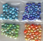 dyed freshwater pearls